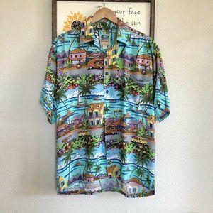 Ron Anderson KAHALA Key West Sport Hawaiian Shirt
